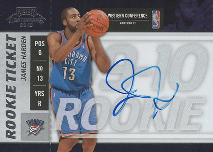 2009-10 Playoff Contenders James Harden RC