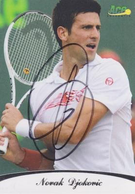 Top Novak Djokovic Tennis Cards 5