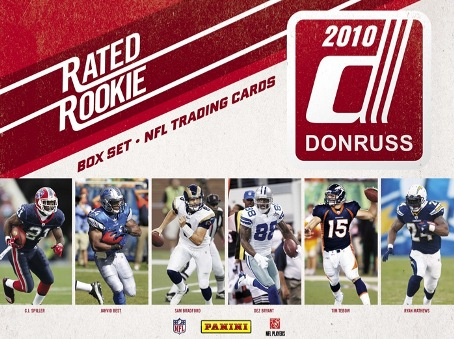 2010 Donruss Football Rated Rookie Box Set 7