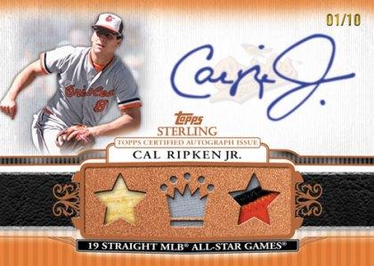2010 Topps Sterling Baseball 10