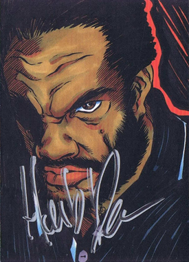 Tank Abbott and Herb Dean Autograph Cards from 5finity 5