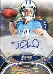 2011 Bowman Sterling Football 18