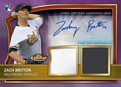 2011 Topps Finest Baseball 2
