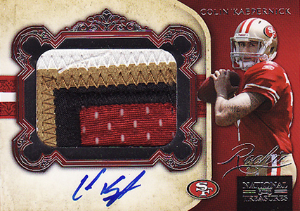 Top 10 Colin Kaepernick Rookie Cards 10