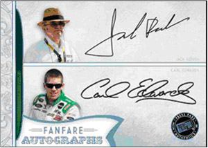 2011 Press Pass FanFare Racing 24