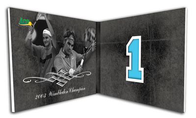 2011 Roger Federer Grand Slam Box Set 4