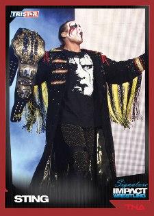 2011 TriStar TNA Signature Impact Wrestling 11