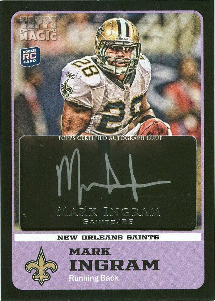 2011 Topps Magic Rookies Set Info Review Boxes Card