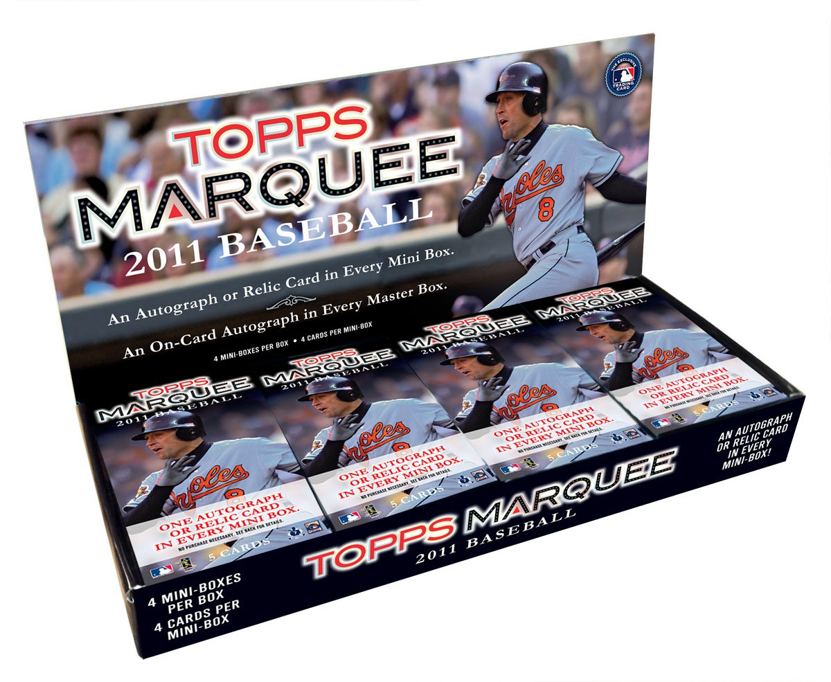 2011 Topps Marquee Baseball 8