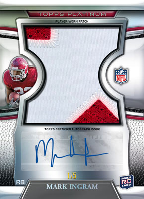 2011 Topps Platinum Football 2