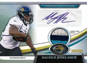 2011 Topps Platinum Football 7