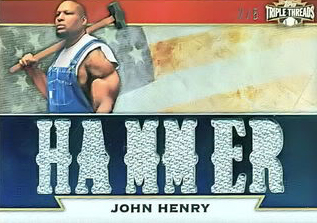 John Henry Card Leads to Legal Headache for Topps 1