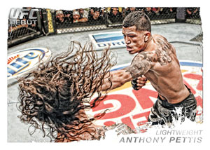 2011 Topps UFC Moment of Truth 22