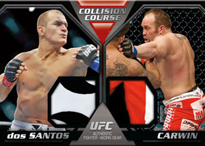 2011 Topps UFC Moment of Truth 34