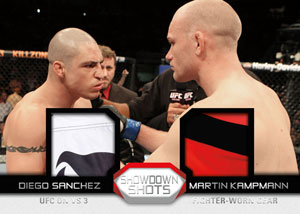 2011 Topps UFC Moment of Truth 38