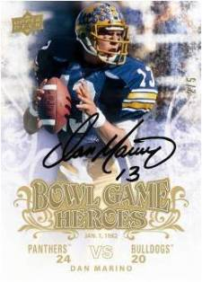 2011 Upper Deck College Football Legends 38