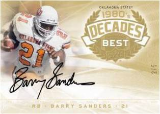2011 Upper Deck College Football Legends 35