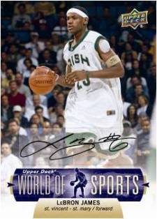 2011 Upper Deck World of Sports 8