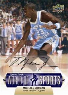 2011 Upper Deck World of Sports 9