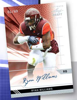 2011 Leaf Ultimate Draft Football  6