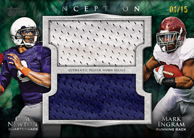 2011 Topps Inception Football 5