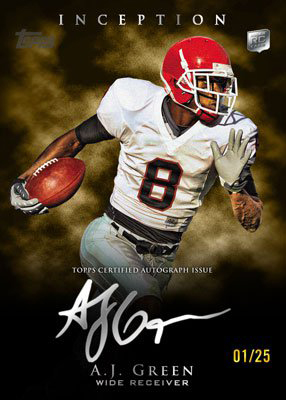 2011 Topps Inception Football 9