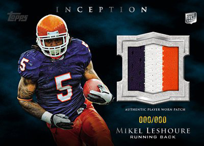 2011 Topps Inception Football 10