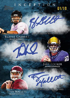 2011 Topps Inception Football 11
