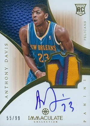 Anthony Davis Rookie Cards Checklist and Gallery 11