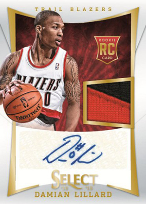 new style 11fb6 2e97a Damian Lillard Autographs Created for Panini Wrapper Redemption