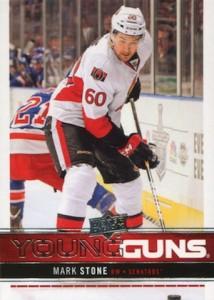 2012-13 Upper Deck Young Gun RC Mark Stone