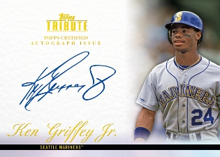 77dd510dc6 Ken Griffey Jr. Autographs Announced for Topps Products 4. Best Match ...