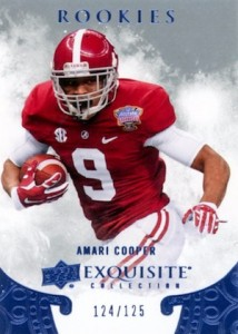 2014 Exquisite Collection Draft Picks Amari Cooper