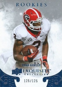 2014 Exquisite Collection Draft Picks Todd Gurley
