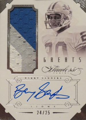 Top Barry Sanders Cards of All-Time 20