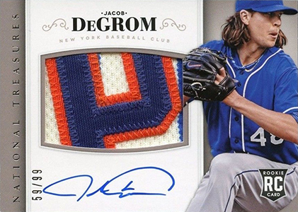 Jacob deGrom Rookie Cards Checklist and Top Prospect Cards 4