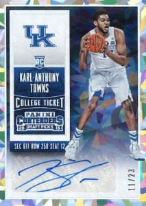 2015-16 Panini Contenders Draft Picks Basketball Cards - Short Print Info Added 22