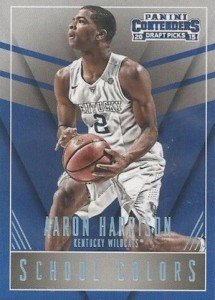 2015-16 Panini Contenders Draft Picks Basketball School Colors