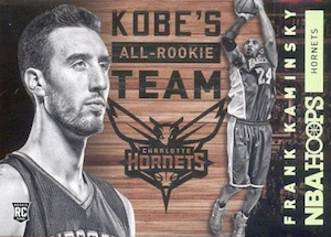 2015-16 Panini NBA Hoops Basketball Kobe's all-rookie team