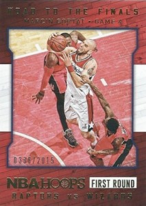 2015-16 Panini NBA Hoops Basketball Road to the Finals