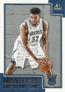 2015-16 Panini NBA Hoops Basketball towns rc