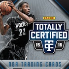 2015-16 Panini Totally Certified Basketball Cards