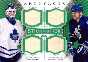 2015-16 Upper Deck Artifacts Hockey Cards - Final Rookie Redemption Checklist 32