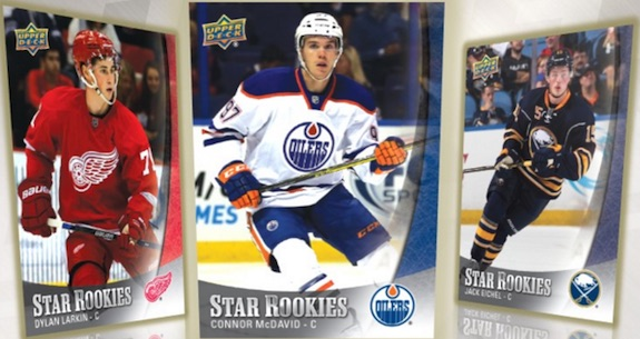 2015-16 Upper Deck NHL Star Rookies Box Set 3