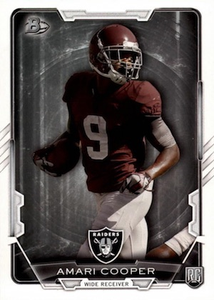 Amari Cooper Rookie Card Gallery and Checklist 1