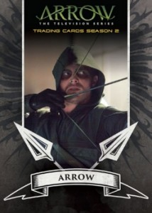 2015 Cryptozoic Arrow Season 2 Archers Insert