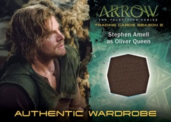 2015 Cryptozoic Arrow Season 2 Wardrobe