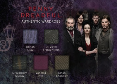 2015 Cryptozoic Penny Dreadful Season 1 Wardrobe Quintuple