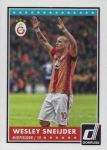 2015 Donruss Soccer Base Wesley Sneijder