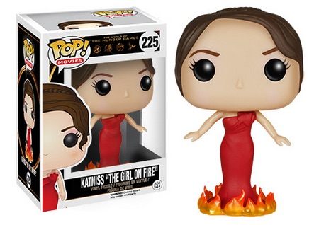 2015 Funko Pop Hunger Games Vinyl Figures 225 Katniss The Girl on Fire